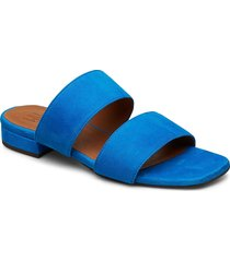 sandals 8716 shoes summer shoes flat sandals blå billi bi