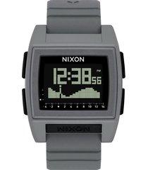 reloj base tide pro gris nixon