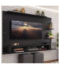 painel para tv até 65 polegadas madesa alfa preto xa21058n1
