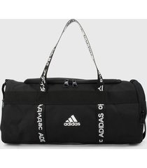 maletín negro-blanco adidas performance 4 athalts extrapequeña