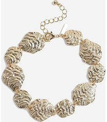 *organic link anklet - gold