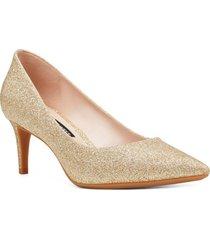 zapato soho dorado mujer nine west