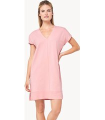 lilla p rib trim dress