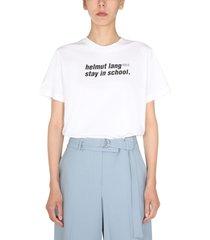 helmut lang school t-shirt