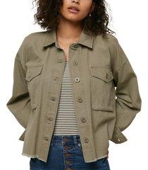 o'neill juniors' smithson cotton canvas jacket