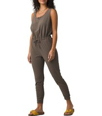 prana railay jumpsuit, size x-large in slate green at nordstrom