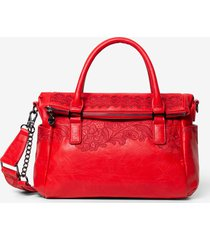 multiposition briefcase type bag - red - u