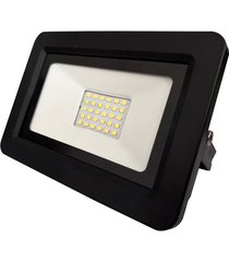 refletor led deep fit 50w bivolt preto 6500k luz branca