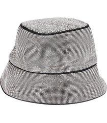 kara silevr-tone bucket hat