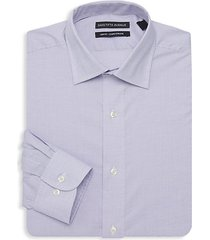 boxed slim-fit classic dress shirt