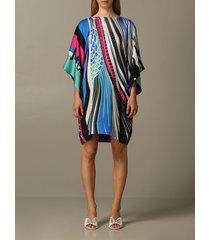 just cavalli dress just cavalli printed satin dress