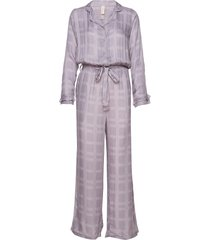 terry jumpsuit pyjamas lila underprotection