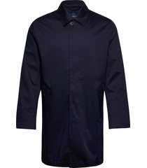d1. the tp car coat trenchcoat lange jas blauw gant