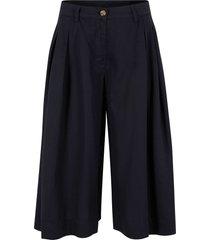 pantaloni culotte larghi in tencel™ lyocell (nero) - bpc bonprix collection