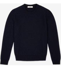 chevron knit sweater blue 60