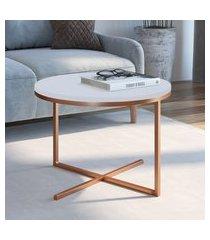 mesa baixa para sala de estar artesano volpi mdf