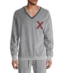 2(x)ist men's heathered cotton-blend sweatshirt - heather grey - size l
