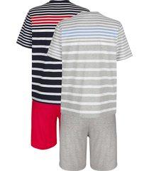 pyjamas g gregory 1 grå, 1 marinblå