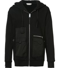 1017 alyx 9sm multi-pocket hoodie - black