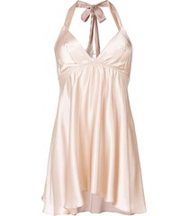 gilda & pearl mia babydoll dress - neutrals