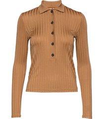 2nd nella blouse lange mouwen bruin 2ndday