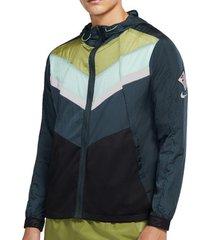 blazer nike windrunner wild run hooded jacket