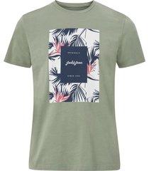 t-shirt jorflorall print tee ss crew neck