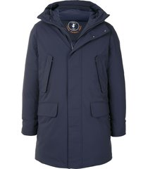 save the duck arctic synthetic down parka - blue