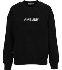 ambush embroidered logo sweatshirt