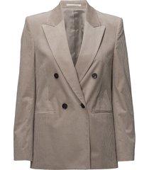 katie cord jacket blazer colbert grijs filippa k