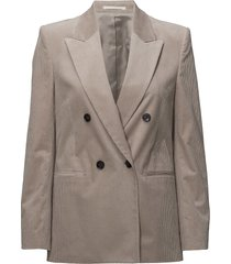 katie cord jacket blazer grijs filippa k