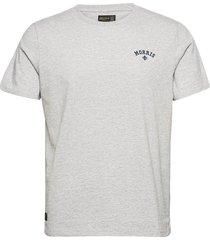merton tee t-shirts short-sleeved grå morris