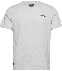 merton tee t-shirts short-sleeved grå morris