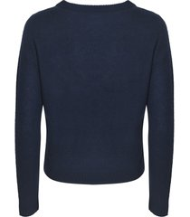 360 sweater plain ribbed sweater