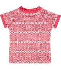 t-shirt plażowy z filtrem uv 50+ mali