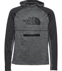 m varuna hd hoodie trui grijs the north face