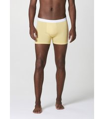 cueca hering boxer com elã¡stico personalizado amarelo - amarelo - masculino - dafiti