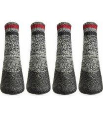 lovethybeast rubber dipped dog socks, size 3 - black