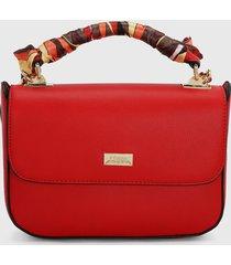 bolso rojo-multicolor keddo