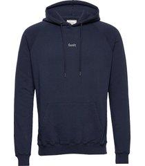 bison hoodie-black hoodie trui blauw forét