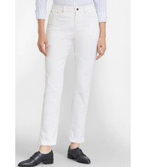 pantalon stretch supima cotton blanco brooks brothers
