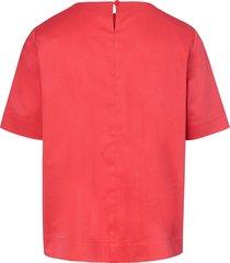 blouse met korte mouwen van peter hahn rood