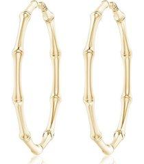 natori indochine circular hoop earrings, women's, gold natori
