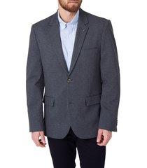 men's 7 diamonds bayfield slim fit stripe sport coat, size large - grey