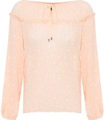 blusa feminina rosie - bege