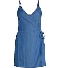 front overlay wrap romper