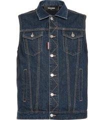 dsquared2 jeans sleeveless jacket