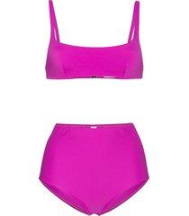 araks quinn high top bikini - pink