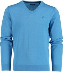 gant pullover langemouw lichtblauw 8030542/445