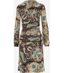 etro designer dresses & jumpsuits, stretch viscose women's dress